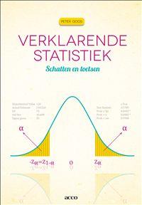 Verklarende statistiek : schatten en toetsen - Peter Goos - plaatsnr. 003/085 #Statistiek #Wiskunde #Waarschijnlijkheidsrekening