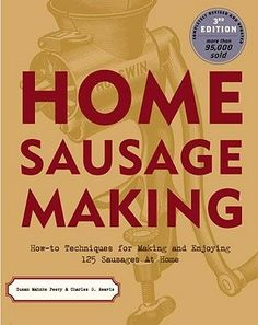 Home Sausage Making