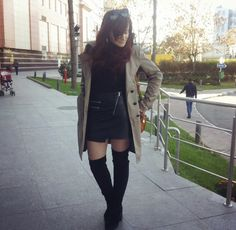 Knee Boots, Outfits, Shoes, Fashion, Moda, Suits, Zapatos, Shoes Outlet, Fashion Styles