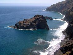 La preciosa isla de La Palma o Isla Bonita, Islas Canarias