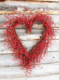 Beautiful Rustic Red & White Wedding Theme Ideas