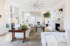 ©AlyssaRosenheck Alyssa Rosenheck's The New Southern Designer Spotlight with Sean Anderson, Interior Designer of Memphis, TN living room art by William McLure