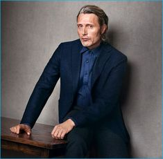Mads Mikkelsen fronts Marc O'Polo's fall-winter 2016 campaign.