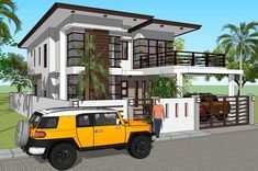 House Plan Purchase - Sets of Plan Blueprint Signed & Sealed) - Only Construction Contract: P M - Low-End/Budget P M - Mid-Range/Standard. Loft House Design, House Outer Design, 4 Bedroom House Designs, 2 Storey House Design, Small House Design, Modern House Design, Loft Floor Plans, Modern House Floor Plans, Dream House Plans