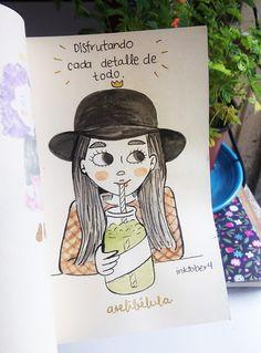 En el BLOG: los primero dibujos de este inktober :D  http://www.arelibelula.com/mis-primero-dibujos-inktober/ #inktober #inktober2016 #ilustracion #retodedibujo