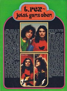 Tyrannosaurus, Love Of My Life, My Love, Marc Bolan, London, T Rex, Musicals, Give It To Me, Memories