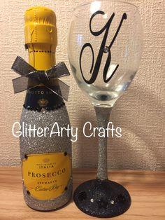 Mini Prosecco & Glass #gifts