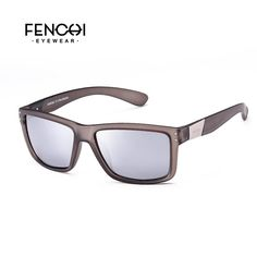 FuzWeb:FENCHI Classic Polarized Sunglasses Men Driving Fashion Metal nameplate Rivet Mirror High quality Sunglasses,C1
