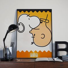Goce Veleski Peanuts movie poster http://www.99percentlifestyle.com/designer-typographer-goce-veleski/