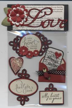 2011 Valentine Card Candy