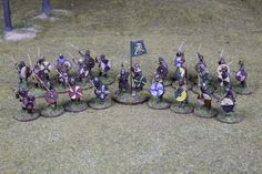 Anglo-Saxon Skirmish Warband for Saga