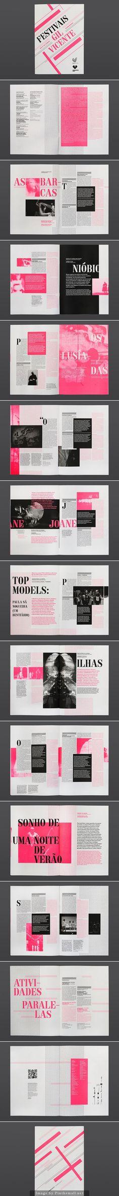 Ênfase pela cor, diversas partes, incluindo caixa, título, texto, subtítulo, destacadas pela cor rosa. Também há ênfase pelo tamanho em elementos como título e subtítulo.:
