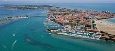 Grado Italy / Basel - Grado distance 714 km, by the evening we reach the town of Grado, Gulf of Trieste.