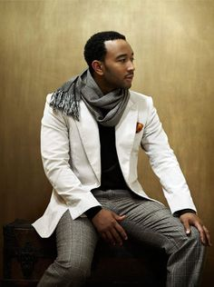 John Legend - Oh yes...john is always cool and never minds taking risks while remaining refined and gentlemanly