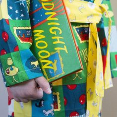 Goodnight Moon© Kids Robe by | Cloud9 Fabrics, via Flickr