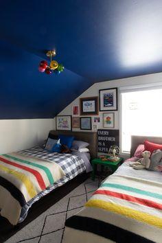 custom shared boys bedroom design
