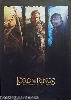 Lord of the Rings Return of the King poster