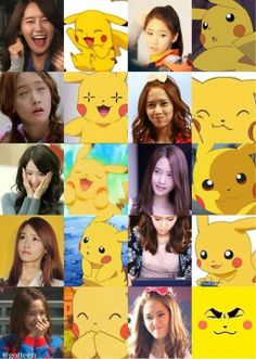 Yoona SNSD pikachu