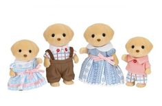 Yellow Labrador Family Set by Sylvanian Families Deer Family, Family Set, Family Dogs, Sylvanian Families, Toys Uk, Kids Toys, Calico Critters Families, Buddy Love, Little Critter