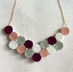 Hand-crafted necklace