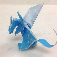 #origami Dragon