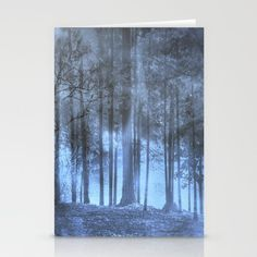 Dreamy Forest Stationery Cards
