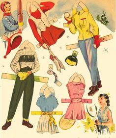 Merry Teens 1953 Saalfield #1576