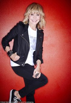 Black leather biker jacket with white tshirt, skinny black jeans and converse
