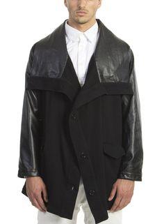 Terry Drape Jacket Black