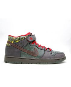 size 40 cb007 a79fe Dunk Mid Premium Moat Dark Army, Baroque Brown 314381-321 Nike Dunks,  Baroque