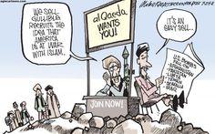 çizgi film ABD-Afgan Savaşı onuncu yıldönümü. Amerika Birleşik Devletleri ve Kanada. propagandanın tarihi