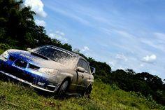 Subaru Impreza WRX STi mud