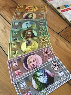A custom Harry Potter Monopoly set that was a five month endeavor!Unfortunately, due to Hasbro copyright reasons, I cannot sell or distribute the game but I've loved the inquiries!