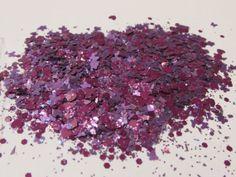 Solvent Resistant Glitter Mix  Purple Passion  5 von CustomNailArt, $3.00