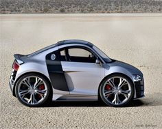 Super cutest mini Audi R8 in the world. Ever! I want one. So bad!