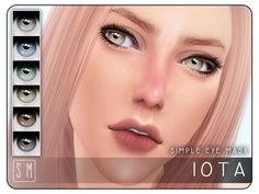 The Sims Resource: Iota - Simple Eye Mask by Screaming Mustard • Sims 4 Downloads