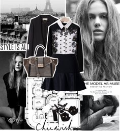 """""""Style is all."""" by mariananogueirabr ❤ liked on Polyvore"""
