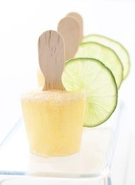 Corona Beer Pops:  Drink, lick or bite-now you have options for how you want to have your cold one. These Corona Beer Popsicles are one my favorite summer dessert recipes. Alright, its not a recipe, but it is a fun and easy entertaining idea for a summer barbeque or for a Cinco de Mayo dessert... - Alright, maybe with Dos Equis instead, but MMMMM.......
