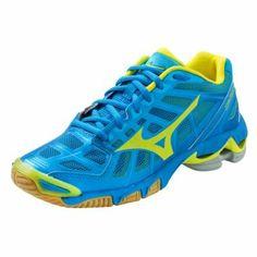 Mizuno Women's Wave Lightning RX2 Volleyball Shoes – Diva Blue & Lemon « Clothing Impulse