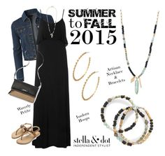 """Stella & Dot Summer to Fall 2015 #stelladotstyle artisan"" by jennifoster ❤ liked on Polyvore"