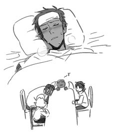 Lance is sick