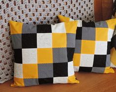 Tips for Those Beginning to Crochet Patchwork Hexagonal, Patchwork Cushion, Quilted Pillow, Diy Pillows, Decorative Pillows, Cushions, Throw Pillows, Cushion Covers, Pillow Covers
