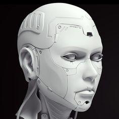 Character Concept, Character Art, Character Design, Arte Sci Fi, Arte Robot, Arte Cyberpunk, Cyberpunk Character, Line Art, Robot Concept Art