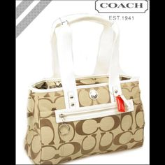 "Spotted while shopping on Poshmark: ""{FINAL PRICE} COACH poppy signature BAG""! #poshmark #fashion #shopping #style #Coach #Handbags"