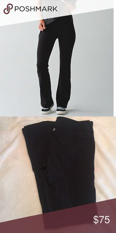Lululemon Groove pant Great condition, worn a few times! lululemon athletica Pants Boot Cut & Flare