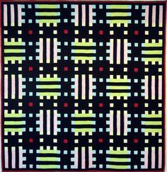 Brita Been, tapestry, MOSAIC PALE 2005   225 x 225 cm
