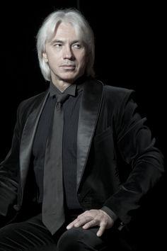 Sexy silver-haired baritone Dmitri Hvorostovsky