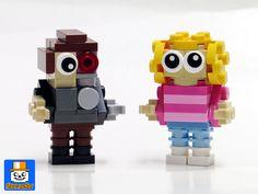 https://flic.kr/p/KiWCVX | Mini Bricks Terminator Sarah | More minis from Legojalex concept : Terminator and Sarah Connor.  See the others in my Flickr album: www.flickr.com/photos/8107354@N03/albums/72157655513803282  www.baronsat.net