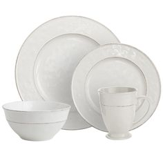 Martillo Dinnerware - White | Pier 1 Imports