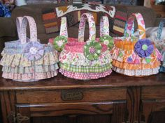 Easter Baskets-2011-Pattern from Sweetwater, purchased from Hollyhill Quilt Shop in OR